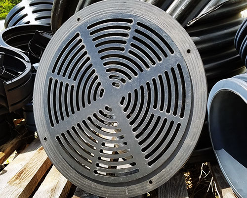 HDPE Plastic Pipe Inlet Grate