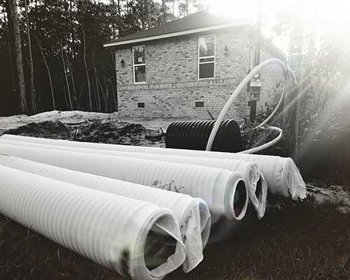 Residential Storm Water Pipe