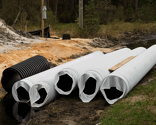HDPE---Perforated-and-Socked-100ft-with-Riser
