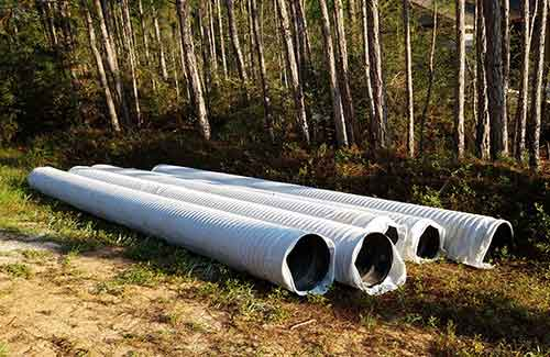 HDPE Perforated Sock Pipe - Agricultural Use