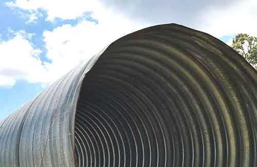 Large Diameter Pipe for Pedestrian Tunnel