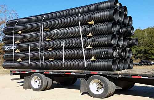 Road/Highway Drainage System - HDPE Corrugated Plastic Pipe