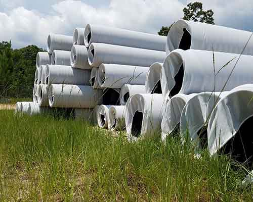 HDPE Corrugated Sock Pipe in Stock