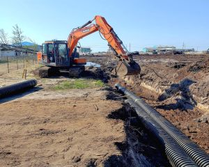 Commercial Site Work Water Management