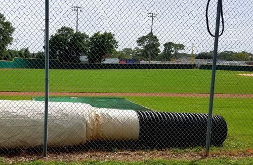 Baseball Field Tarp Roller