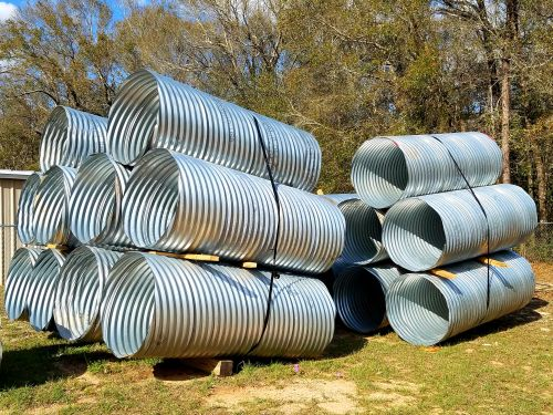 Pole Casings for Use in Standing Power Poles in Sandy Soils - 36 inch diameter, 8 ft long
